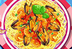 Play Seafood Pasta Game