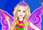Play Barbie a Fairy Secret Dress Up Game