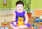Play Temperamental Baby Dress Up Game