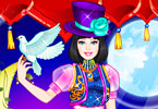 Play Barbie Magician Princess Dress Up Game