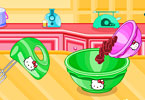 Play Kittys Choc Chip Jelly Muffins Game