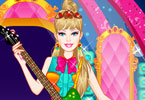 Play Barbie Popstar Princess Dress Up Game