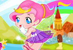 Play Cute Little Fairy Dressup Game