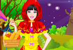 Play Barbie Red Riding Hood Dress Up Game