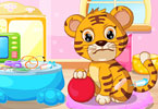 Play Baby Tiger Vet Care Game