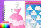 Play Fashion Studio Princess Dress Design Game