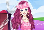 Play Flower Around Princess Game