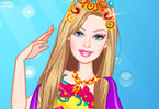 Play Barbie Mermaid Princess Dress Up Game