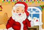 Play Santa Claus Dress Up Game