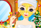 Play Miss Santa Makeover Game