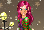 Play December Cover Elf Girl Game