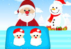 Play Santa Claus Cookies Recipe Game