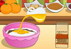 Play Mia Cooking Christmas Pudding  Game
