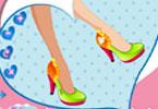 لعبة تصميم أحذية كعب عالى