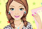 Glam College Girl Makeup