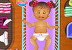 Baby Daisy Diaper Change