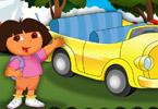 Dona at Car Show