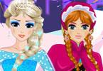 Anna and Elsa Frozen Princesses
