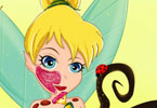 Tinkerbell First Makeover