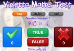 Violetta Maths Test
