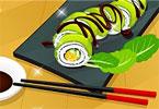 Sushi Classes Green Dragon Roll