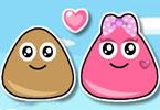 Pou Lovely Kiss