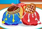 لعبة طبخ كرات الآبس كريم