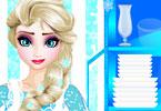 Elsa Washing Dishes