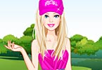 Barbie Golf Fashionista Dress Up