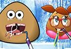 Pou And Pou Girl At The Dentist