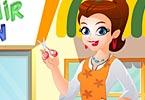 لعبة صالون الشعر للأطفال