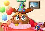 Pou Girl Birthday Party