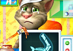 Talking Tom Arm Surgery