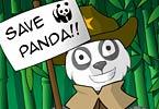 Panda Dess Up