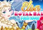 Elsa Royal Ball Makeover