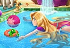 Rapunzel Swimming Pool