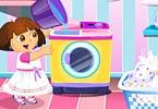 Washing Dresses