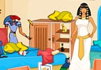 Egyptian Princess Room Cleaning
