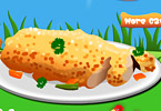 Cooking Easy Breaded Chicken