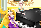 Elsa And Rapunzel Piano Contest