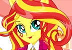 Sunset Shimmer School Spirit Style