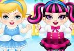Cinderella x Draculaura Babies