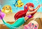 Ariel Ocean Swimming