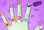 Monster High DIY Nails
