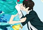 Underwater Kissing