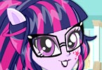 Twilight Sparkle School Spirit Style