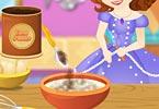 Sofia Cooking Princess Cake