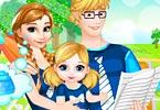 Anna and Baby Buy parent child attire