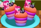 Little Pony Rainbow Cupcakes