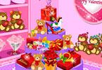 Valentines Store Decoration